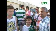 Bursaspor Tv Galatasary maci oncesi taraftar roportaji
