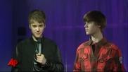 Justin Bieber вече и с восъчна фигура