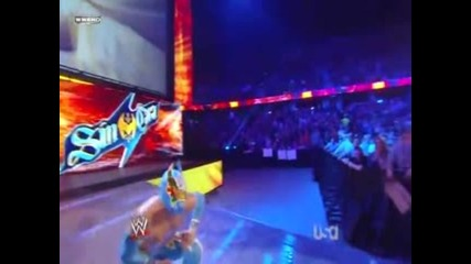 Sin Cara vs. Sin Cara wwe Raw 09.19.11