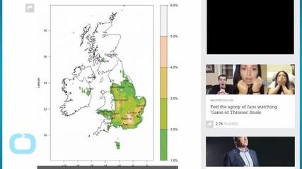 New Map Shows the UK's Tornado Hotspots