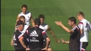 Шеги, закачки и тренировки за Реал Мадрид
