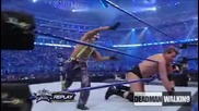 21 Секунди Мач ! Jbl vs Rey Mysterio ( For The Intercontinental Championship) - Wrestlemania 25