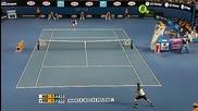 Nadal - Verdasco, Australian Open 2009 Semi-final Highlights part 1/2