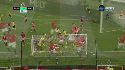 Намеса на ВАР отмени гол на Уотфорд срещу