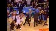 Баскетболисти Се Сбиват Повреме На Мач