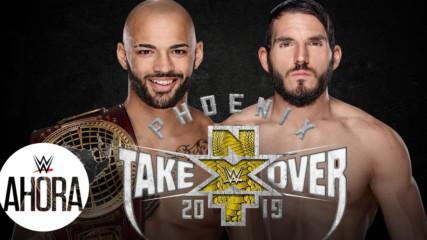 NXT TAKEOVER: PHOENIX, Ricochet enfrentará a Johnny Gargano Ene 22, 2019
