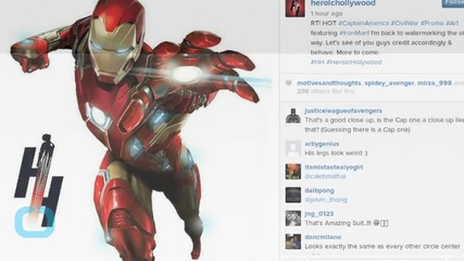 New Iron Man Armor Promo Art From Captain America: Civil War