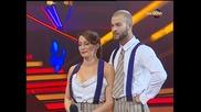 Dancing Stars - Александра Жекова и Симеон Тимов джаз(01.04.2014г.)