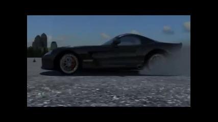 Viper drift 3d animation-create 10.2011