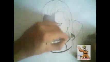 how to draw Hidan { виж инфо }