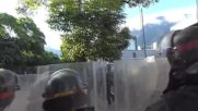 Venezuela: New wave of violent clashes hit Caracas during anti-Maduro national strike