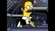 Пародия Star Wars The Simpsons