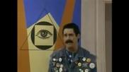 Джим Кери осмива илюминатите, конспираторите и програмата М К - У Л Т Р А в шоуто на Джими Кимел