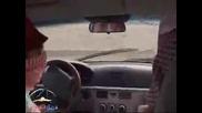 Арабин дърпа ръчна при 200 km/h !?