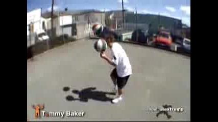 Невероятни Умения С Баскетболни Топки