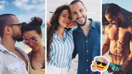 Романтика, слънце и солени целувки: Морското приключение на Наум и Теа