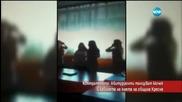 Контратемата:Абитуриенти танцуват кючек в кабинета на кмета на община Кресна-Часът на Милен Цветков