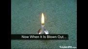 Как Да Си Направим Свещ Която Не Загасва?