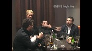 Андреа, Тони Стораро, Константин, Илиян и Крум, видеоинтервю... от масата