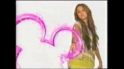 Miley Cyrus (new!!!!!) - Disney Channel Logo