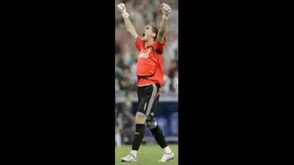 Iker Casillas Vs. Martin Kochev