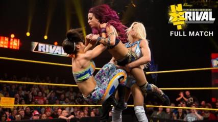 Charlotte vs. Bayley vs. Sasha Banks vs. Becky Lynch - NXT Women's Title Fatal 4-Way Match: NXT TakeOver: Rival 2015 (Fu