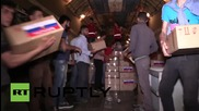 Syria: EMERCOM aircraft delivers 20 tons of humanitarian aid