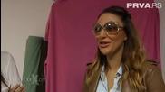Ana Nikolic - Kreiranje haljinica za devojcice - Exkluziv - (TV Prva 2014)