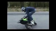 Scooter stunt/moppe Stunts [orginal]