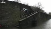 Най - бруталното пребиване с колело !