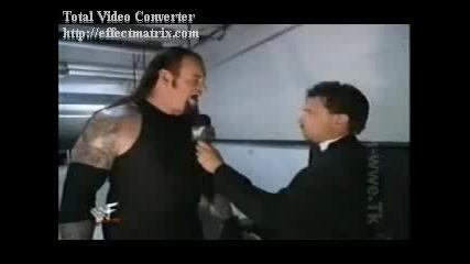 Undertaker Funny Moment : D
