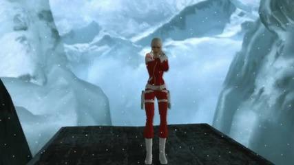 Christmas time with Lara Croft