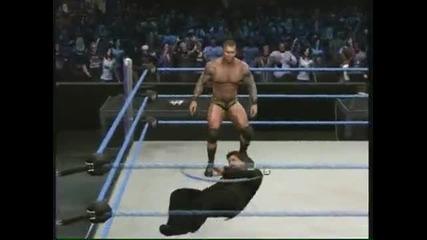 Wwe Smackdown vs Raw 2010 Randy Orton Road To Wrestlemania Walkthrough Part 12