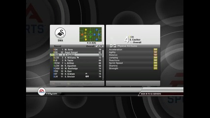 Fifa 12 Manager Mode - Swensea [ G_football ]