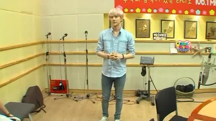 130813 Exo - writing their names with their butts Sukira