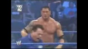 Rey Mysterio Smackdown Return Vs Batista