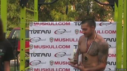 Street Workout турнир в Пловдив - THE MOVIE - 13.09.2014 - Част 2