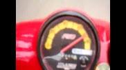 Malaguti F10 [препълва километража] 0 - 100km/h