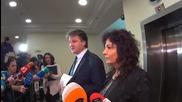 Димитър Узунов прочете декларацията на ВСС