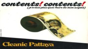 Cleanic Pattaya - Contents! Contents!(synth pop Belgium 1985)