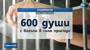 600 осъдени живеят на свобода у нас