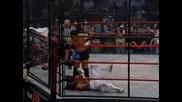 Sabu Vs Samoa Joe [6 Sided Steel Cage]