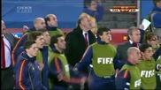 World Cup Парагвай 0:1 Испания - Гол на Давид Вия