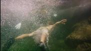 Екстремно спускане по 35 метров водопад