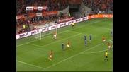 ВИДЕО от измъчената победа на Холандия над Казахстан