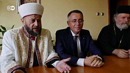 """""""Тук българи и турци живеят в мир и разбирателство. Напук на политиците."""""""