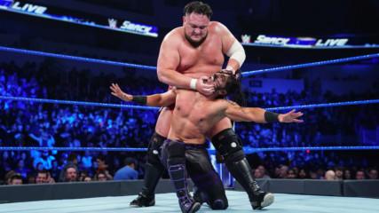 Mustafa Ali vs. Samoa Joe: SmackDown LIVE, Jan. 22, 2019