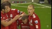 2011-10-222 Liverpool vs Norwich 1-0 Bellamy (45+1) Epl