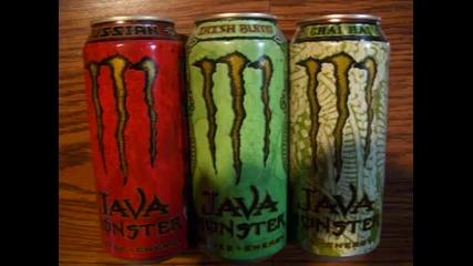 Една малка част от видовете Monster Energy