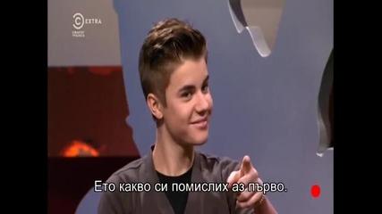 Justin Bieber в Опасни Каскади Бг Превод